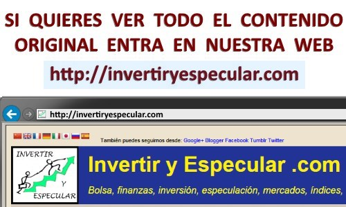 VIDEO COMENTARIO IBEX DEL 6 AL10 DE JULIO 2015